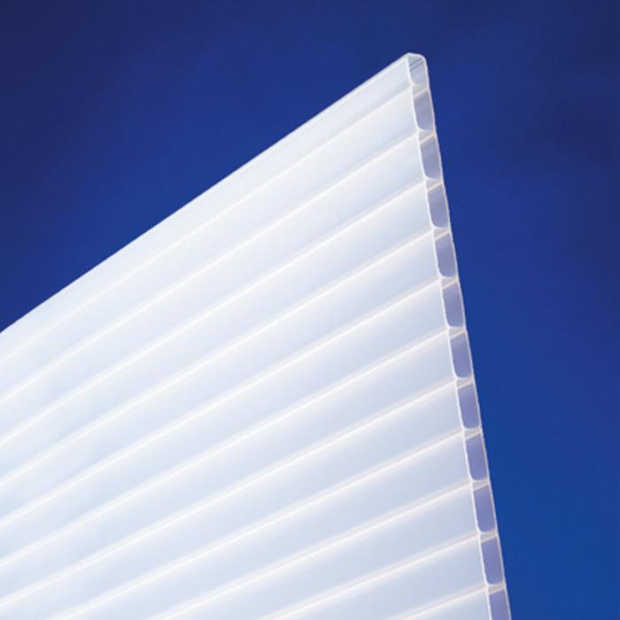 Acrylglas Stegplatten 16 mm opal-weiß - Doppelstegplatte