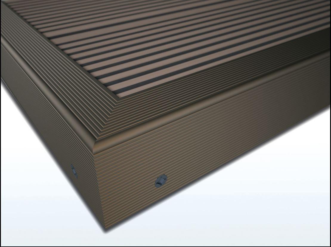 Zubehör Twinson 9518-66 Rand-/Abschlussprofil 50 x 42 x 4.500 mm Braun 66