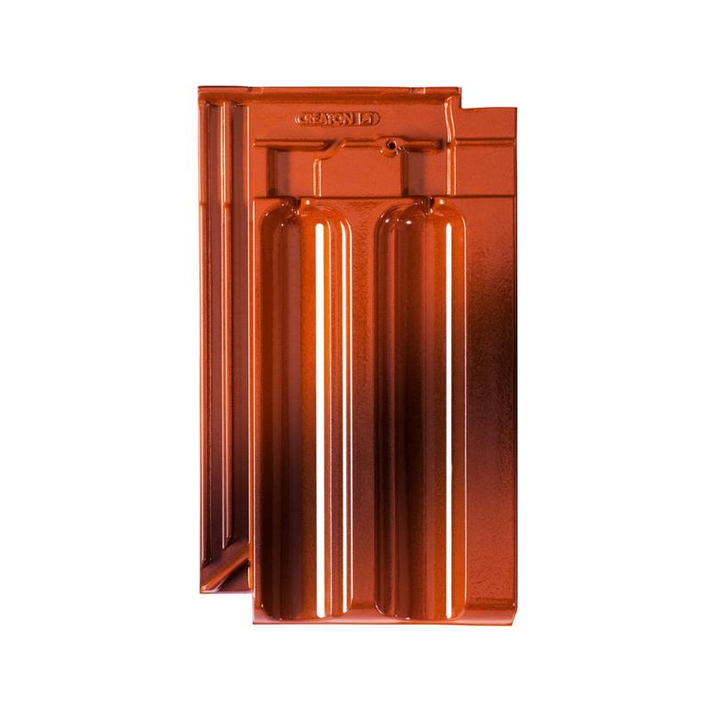 creaton dachziegel ratio finesse antik geflammt glasiert. Black Bedroom Furniture Sets. Home Design Ideas