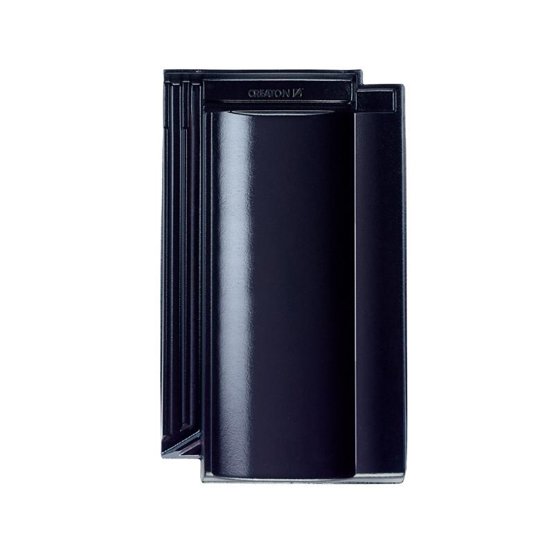 creaton dachziegel terra optima finesse schwarz glasiert. Black Bedroom Furniture Sets. Home Design Ideas
