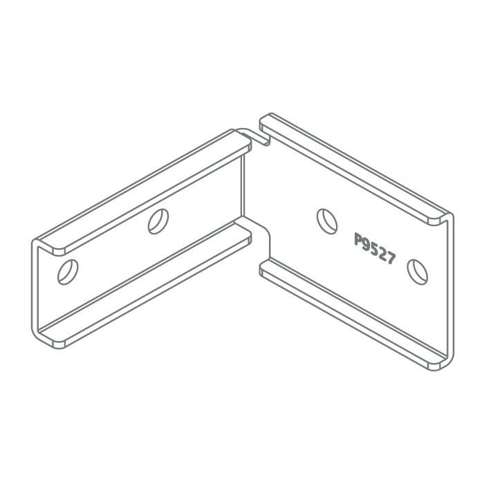 Eckverbinder V2A 9495