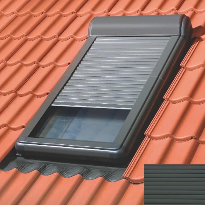 FAKRO ARZ Z-Wave Elektro-Außenrollladen dunkelgrau