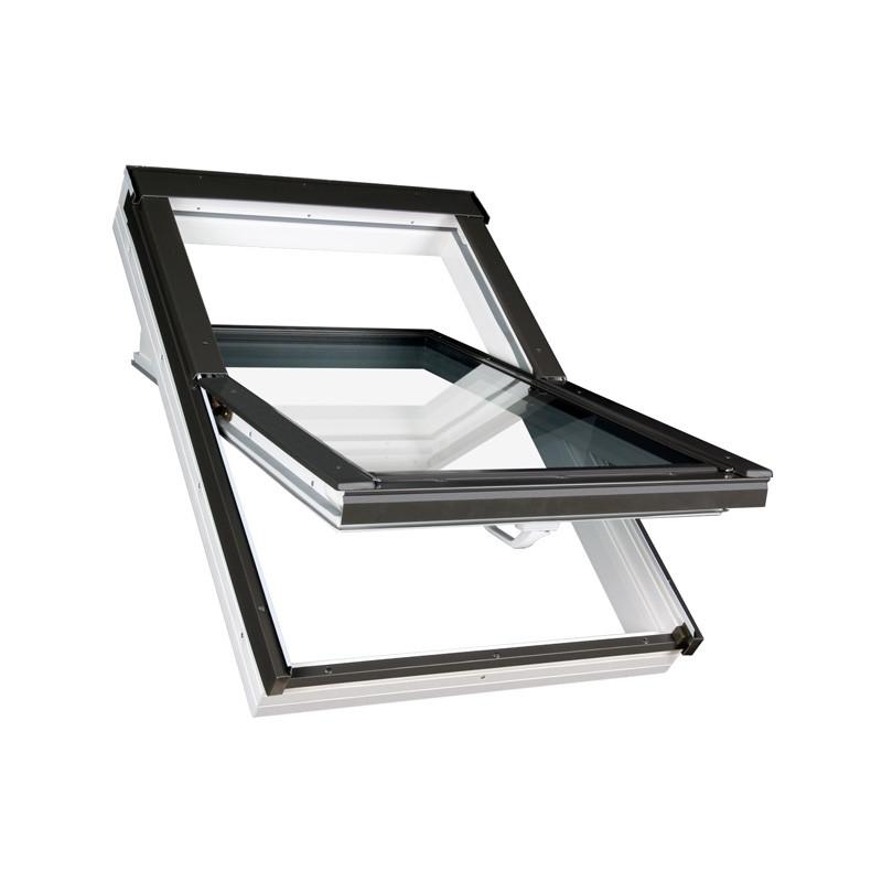 FAKRO PTP U3 Schwingfenster Kunststoff - Dachfenster mit Schwingfunktion