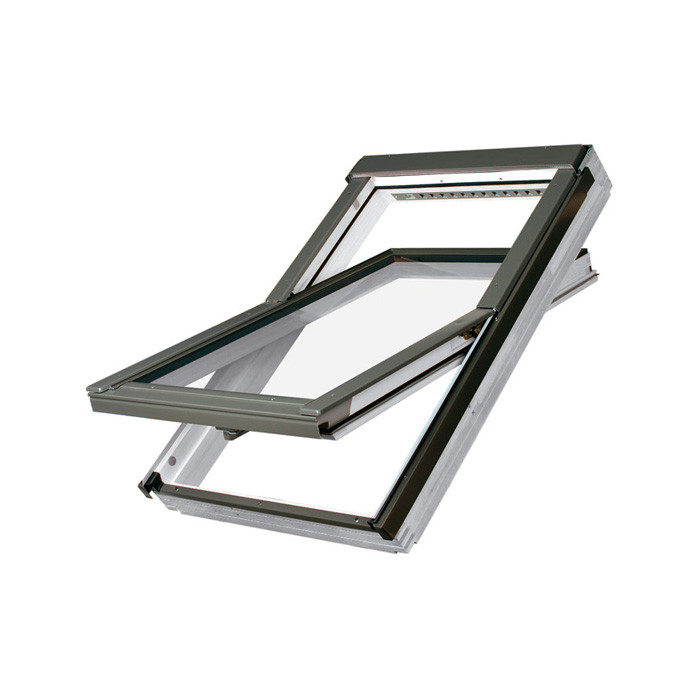 fakro dachfenster ftu v u5 schwingfenster kunststoff g nstig kaufen. Black Bedroom Furniture Sets. Home Design Ideas