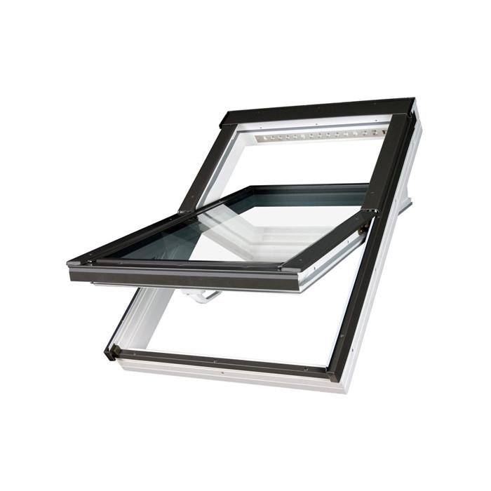 fakro ptp v u5 schwingfenster pvc wei. Black Bedroom Furniture Sets. Home Design Ideas