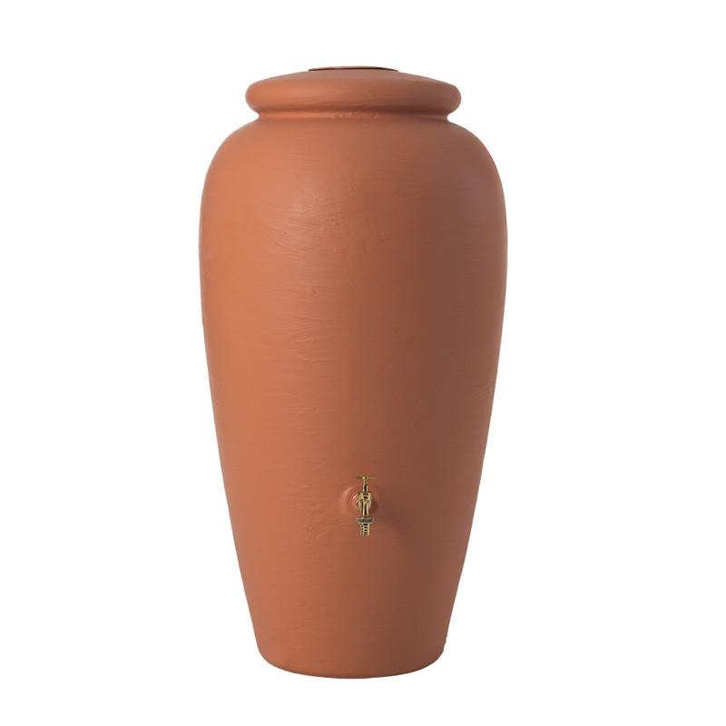 Garantia Regen-Amphore terrakotta 500 Liter