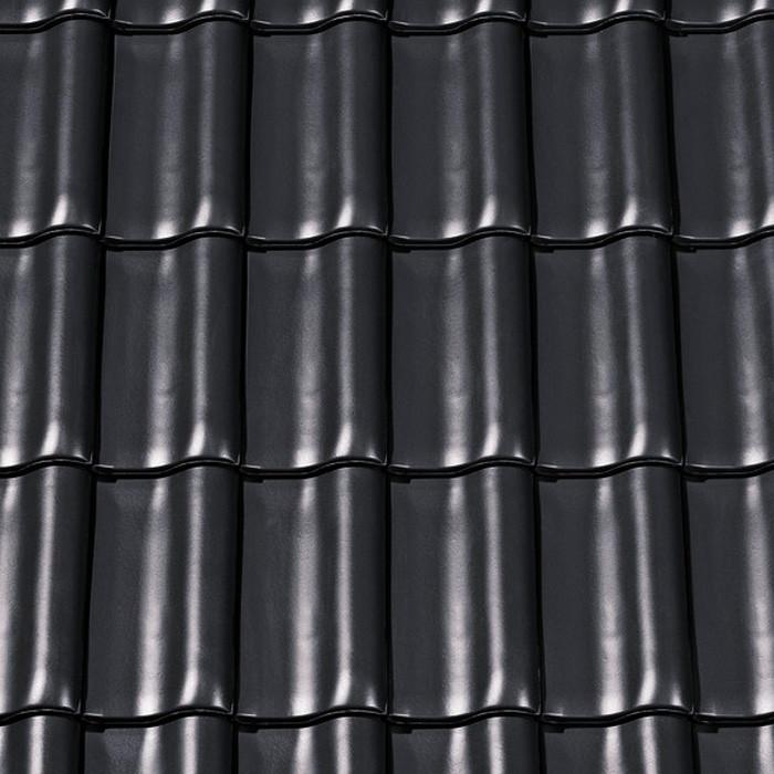 creaton dachziegel harmonie finesse schwarz glasiert. Black Bedroom Furniture Sets. Home Design Ideas