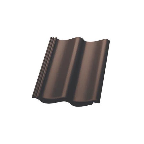 Nelskamp Dachstein S-Pfanne Longlife glänzend dunkelbraun