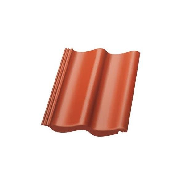 Nelskamp Dachstein S-Pfanne Longlife glänzend ziegelrot