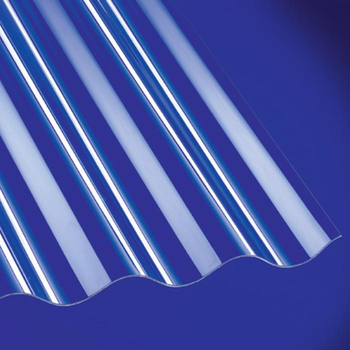 wellplatten polycarbonat 1 3mm sinus 76 18 klar g nstig kaufen. Black Bedroom Furniture Sets. Home Design Ideas