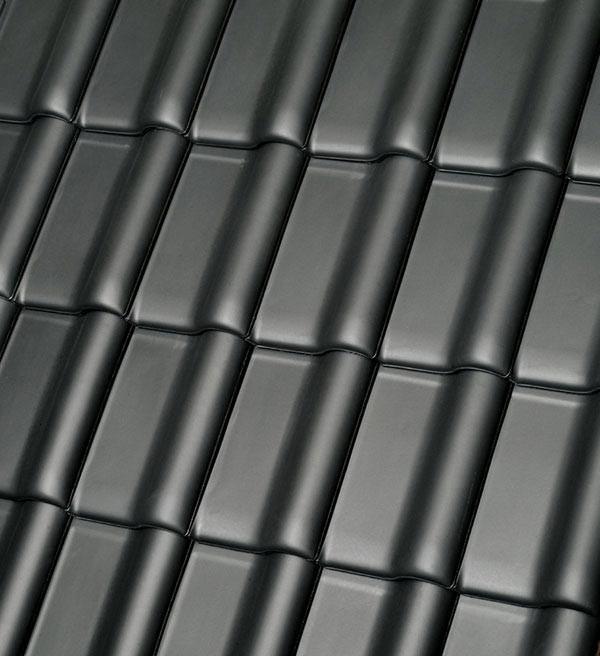 Röben Dachziegel Monzaplus schiefergrau - Flachdachziegel