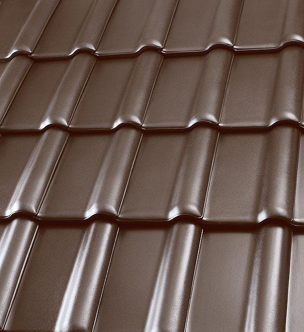 Röben Dachziegel Piemont havannabraun