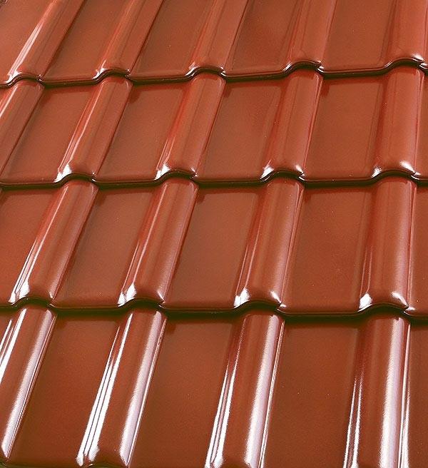 Röben Dachziegel Piemont kastanienbraun