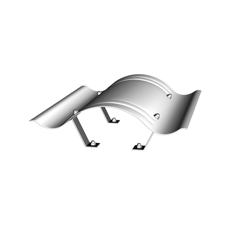 Sarei Kaminhaube Aluminium