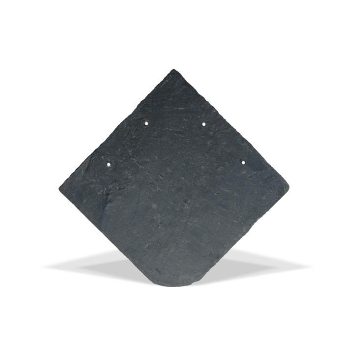 Naturschieferplatten Universal Rundbogen 25 x 25 cm Schiefer