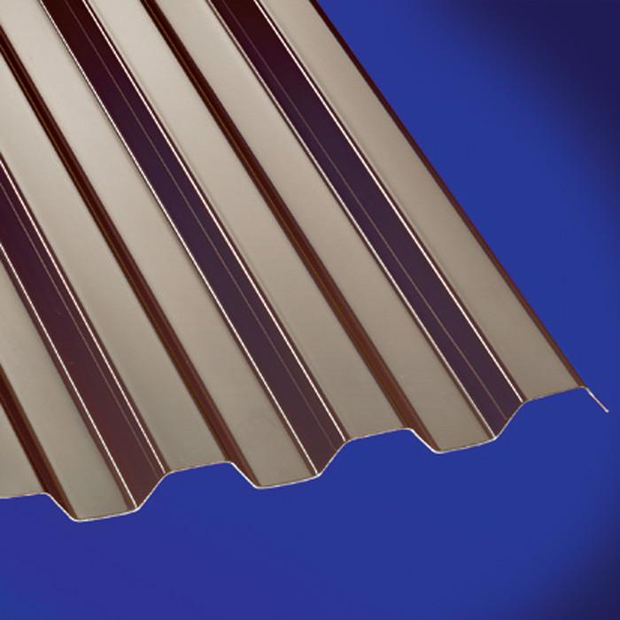 PC Profilplatte Trapez 76/18 bronce 0,8mm