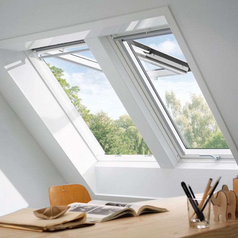 velux klapp schwingfenster gpl 2070 thermo wei. Black Bedroom Furniture Sets. Home Design Ideas