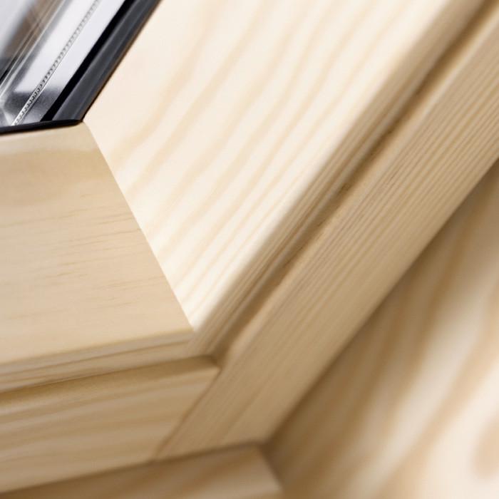 velux schwingfenster ggl 3070 thermo holz klar. Black Bedroom Furniture Sets. Home Design Ideas