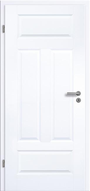 Stiltür Komplettelement Koel 4GAD Weißlack Zimmertür - Formprofiltüren