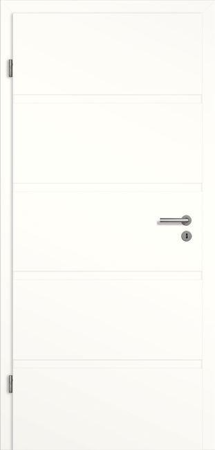 Weißlack Designtür Mokena MO5