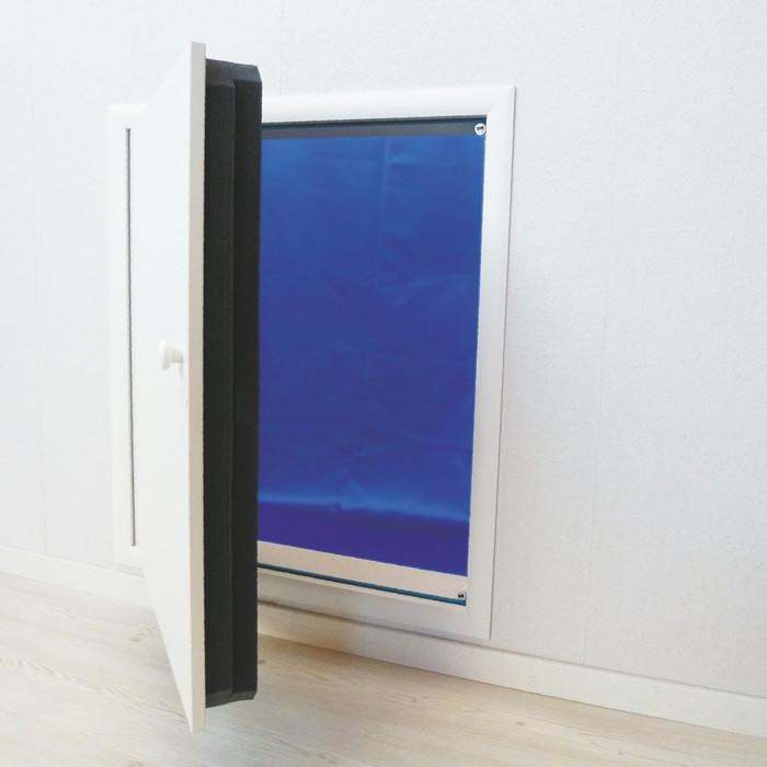 Wellhöfer Kniestocktür mit WärmeSchutz 4D