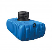 4rain FLAT S Flachtank 1500 Liter - flacher Regenwassertank