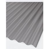 Marlon CS Crystalight Wellplatten Polycarbonat WP 76/18 Rund grau