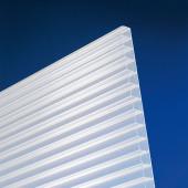 Polycarbonat Stegplatten 16 mm opal-weiß longlife - Steg 3-fach - Doppelstegplatte