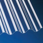 Acrylglas Wellplatten 3mm glatt Sinus 76/18 klar für Terrassenüberdachung, Carport und mehr