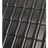 Röben Dachziegel Monzaplus schwarz-matt - Flachdachziegel