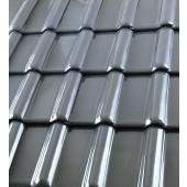 Röben Dachziegel Piemont titan-grau - Flachdachziegel
