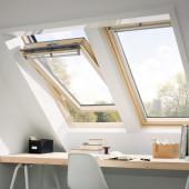 VELUX Schwingfenster GGL 3070 Holz Dachfenster klar lackiert
