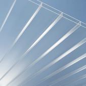 PLEXIGLAS® RESIST Stegplatten AAA SDP 16/64 in farblos und glatter Oberfläche