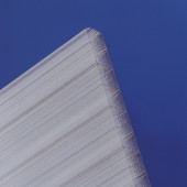 Polycarbonat Hohlkammerplatten Thermo 25mm klar longlife - Doppelstegplatte
