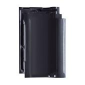 TONETTO® Dachpfannen schwarz glasiert - Dachziegel aus Ton