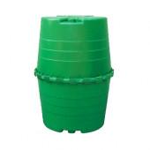 Garantia Top-Tank 1300 Liter - Regentonne dunkelgrün
