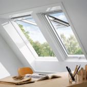 VELUX Dachfenster Klapp-Schwingfenster GPL 2070 Holz weiß lackiert