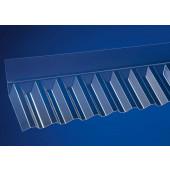 Acrylglas Wandanschluss Trapez 76/18