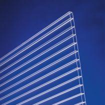 Acrylglas Stegplatten 16mm klar - Doppelstegplatte