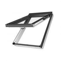 Fakro Dachfenster FPU Klapp-Schwing-Fenster - Holzfenster weiß lackiert