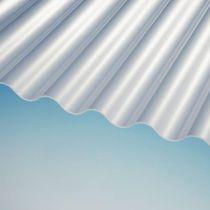 Wellplatten PLEXIGLAS® HEATSTOP WP 76/18 Cool Blue 3mm glatt