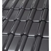Röben Dachziegel Monzaplus graphit - Flachdachziegel