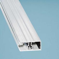 Alu-Verlegesystem Deckprofil Rand - für 16 mm Stegplatten