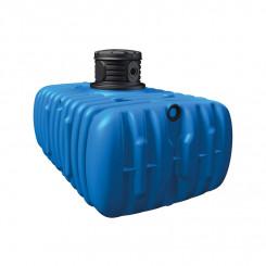 4rain Flachtank FLAT M 3000 Liter - flacher Regenwassertank