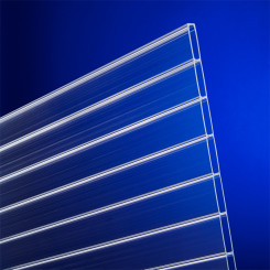 Acrylglas Doppelstegplatten 16mm farblos - Doppelstegplatte