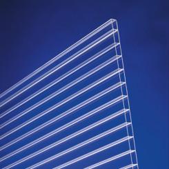 Polycarbonat Stegplatten Base 16mm klar longlife - Doppelstegplatte
