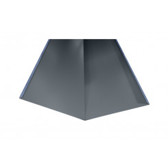 Briel Kehlblech Aluminium Anthrazitgrau