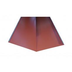 Briel Kehlblech Aluminium Kupferbraun