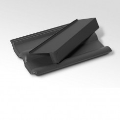 Briel Windschutz-Ortgang - Dachabschluss am Steildach