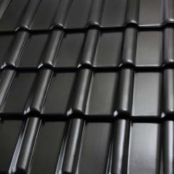 Röben Dachziegel Piemont graphit - Flachdachziegel
